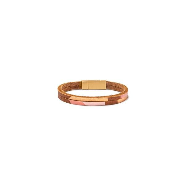 Son of a Sailor Pecos Leather Bracelet / Rose Gold Son of a Sailor