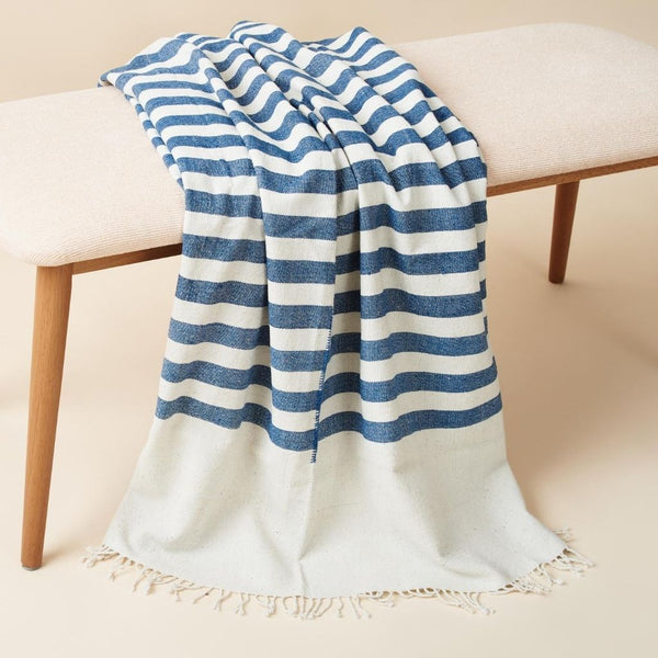 Studio Variously Aari Organic Cotton Throw Blanket Bedding and Bath Studio Variously