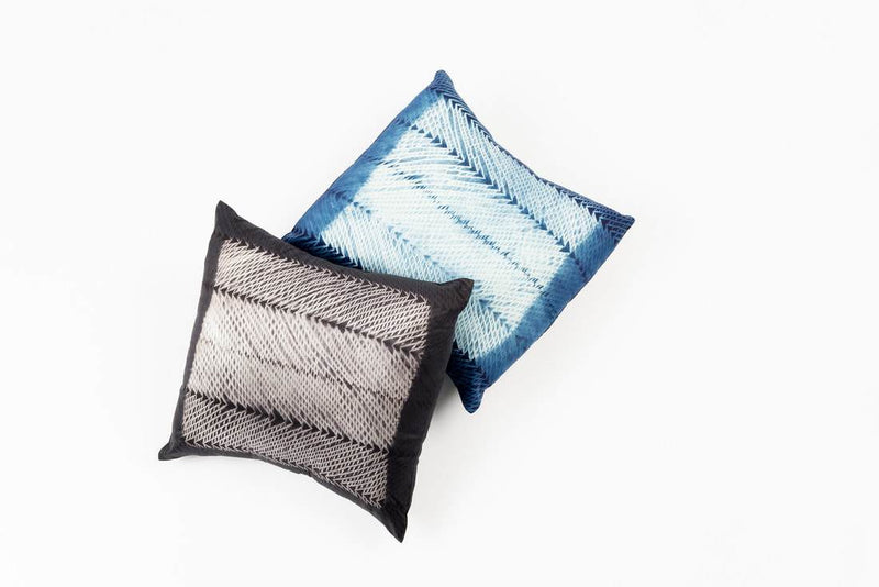 Studio Variously Ara Indigo Cushion Made Trade