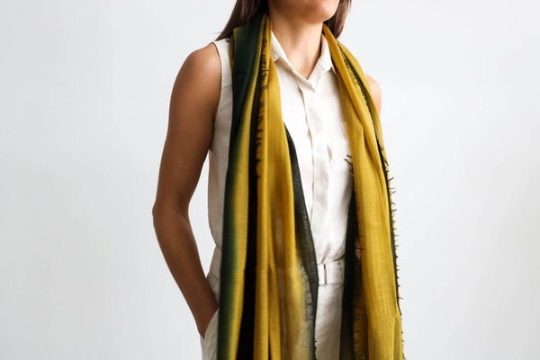 Studio Variously Aria Topaz Scarf Made Trade