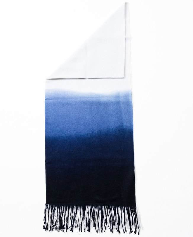 Studio Variously Azure Throw Made Trade
