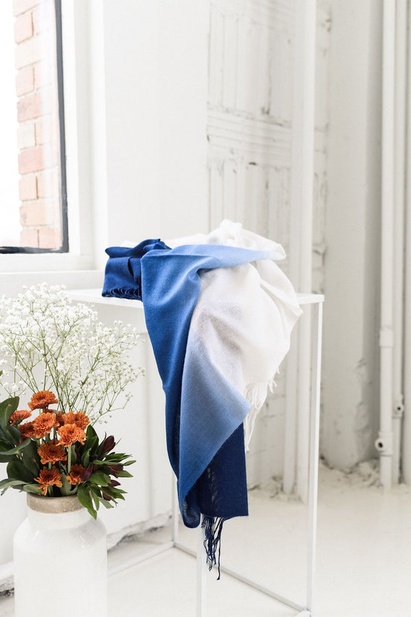 Studio Variously Azure Throw Studio Variously