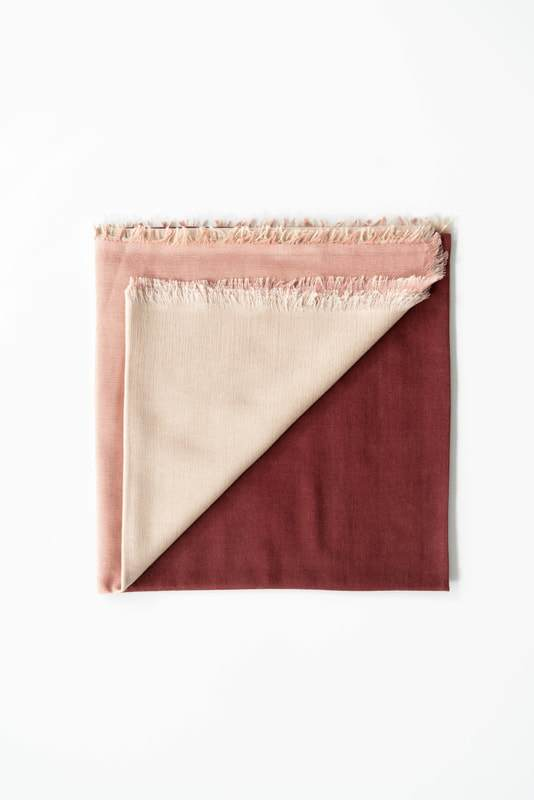 Studio Variously Blok Rosewood Scarf Studio Variously