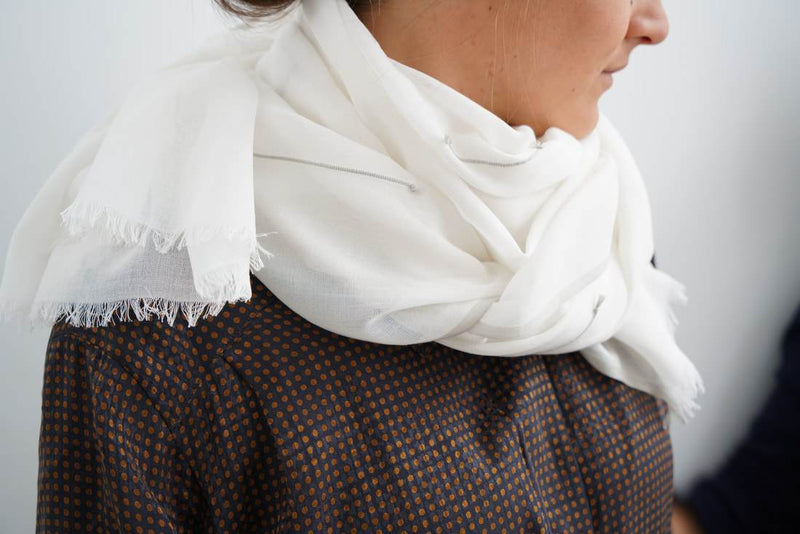 Studio Variously Calico Mist Scarf Made Trade
