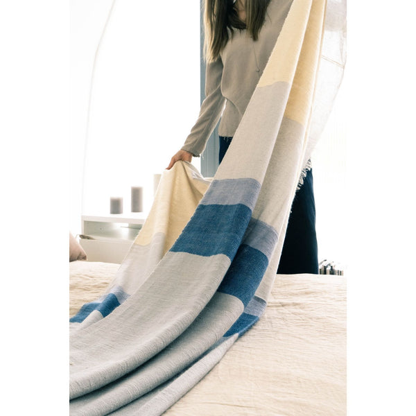 Studio Variously Ceru Throw Studio Variously