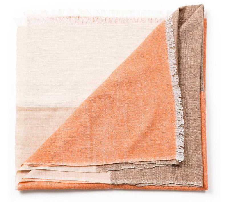 Studio Variously Chestnut Throw Made Trade