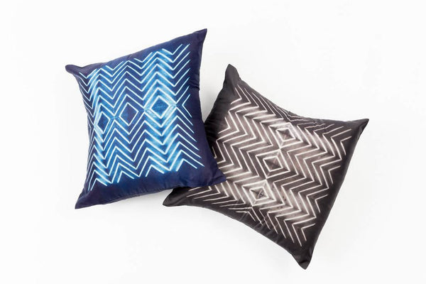 Studio Variously Naami Indigo Cushion Made Trade