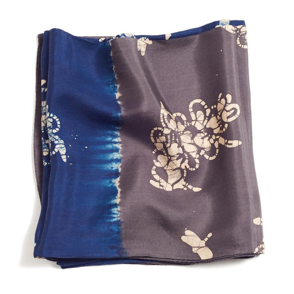 Studio Variously Oraa Black Silk Scarf Studio Variously