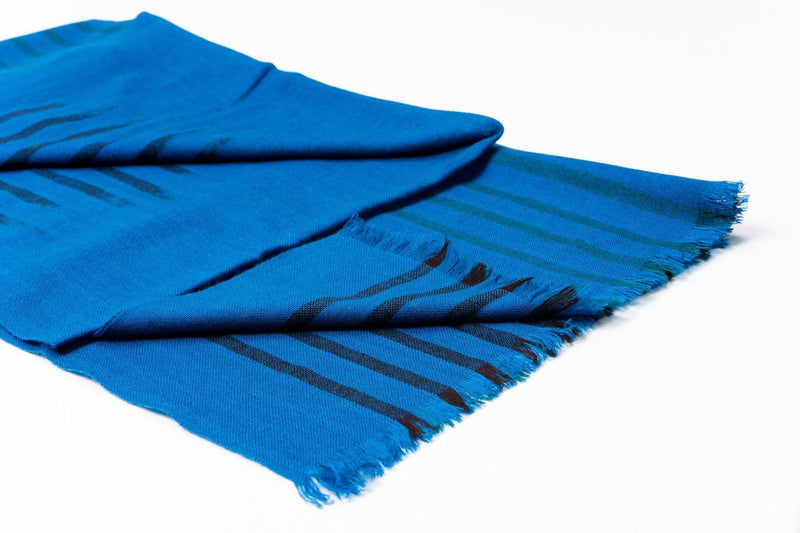 Studio Variously Peacock Melos Merino Scarf Studio Variously