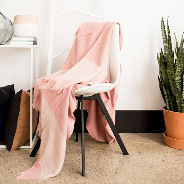 Studio Variously Rosa Throw Studio Variously