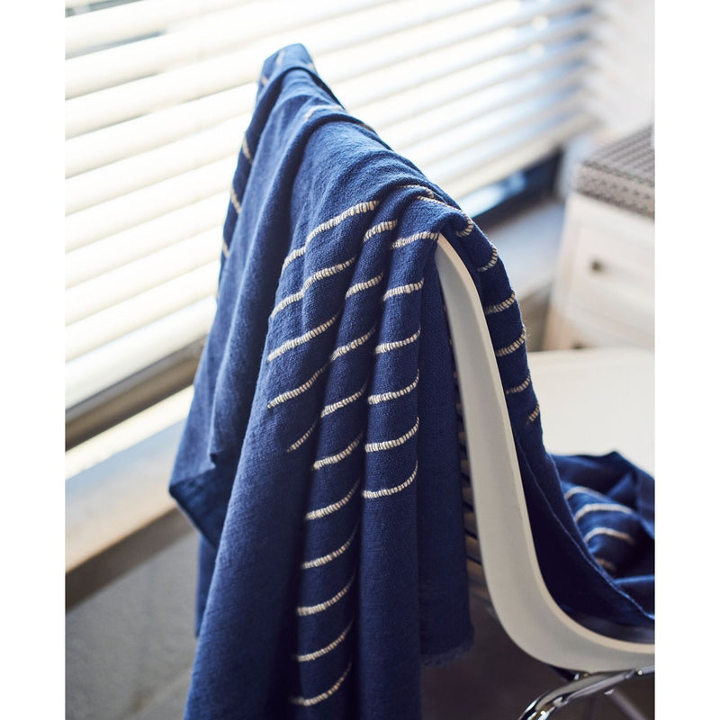 Studio Variously Rosewood Indigo Throw Home Goods Studio Variously