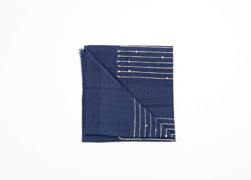 Studio Variously Rosewood Indigo Throw Studio Variously