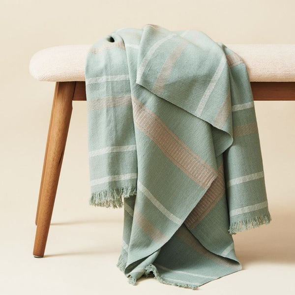 Studio Variously Sage Throw Studio Variously