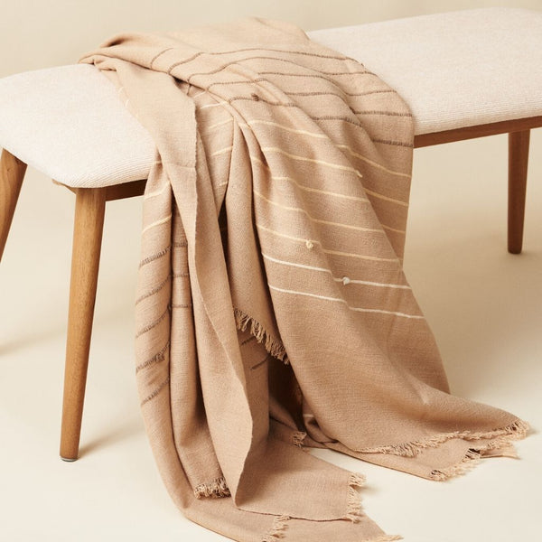Studio Variously Terra Merino Throw Blanket Studio Variously