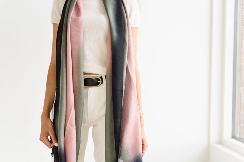 Studio Variously Umbra Kiwi Scarf Studio Variously