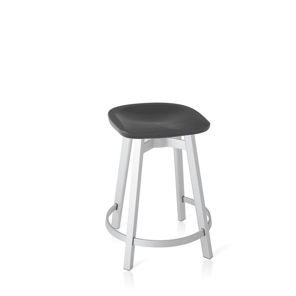Su Counter Stool - Aluminum Frame Furniture Emeco Charcoal