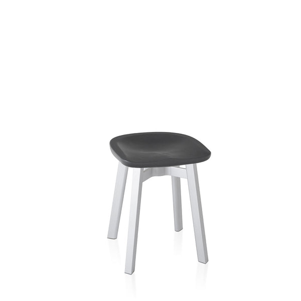 Su Small Stool - Aluminum Frame Furniture Emeco Charcoal