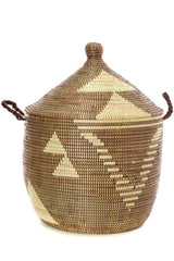 Swahili African Modern Brown and Cream Basket Swahili African Modern-5010955370559