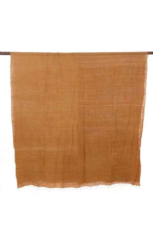 Swahili African Modern Coffee Brown Gabi Tablecloth or Throw Swahili African Modern