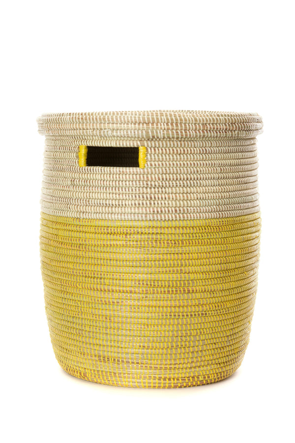 Swahili African Modern Lemon Drop Hamper Basket Swahili African Modern