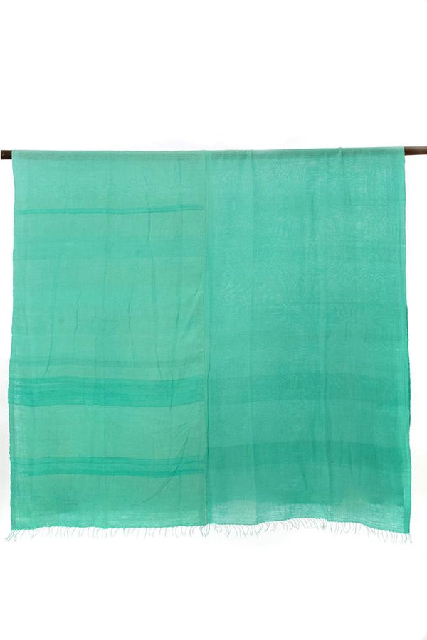 Swahili African Modern Sea Glass Blue Gabi Tablecloth or Throw Swahili African Modern