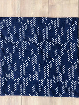Symbology Art Deco/Baby Cacti Reversible Sham in Navy + Cream Home Decor Symbology-13301550514239