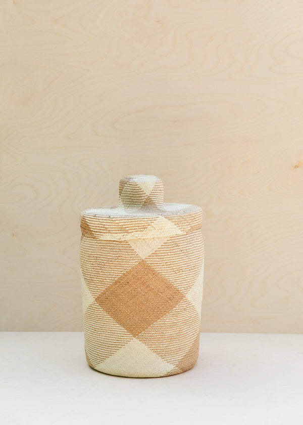 Territory Design Japa Basket Tall | Natural Basket Territory Design