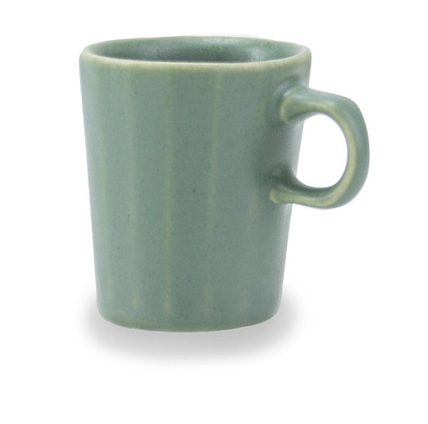 The Bright Angle Doubleshot Espresso Cup - Rosemary Green Satin Matte Coffee The Bright Angle