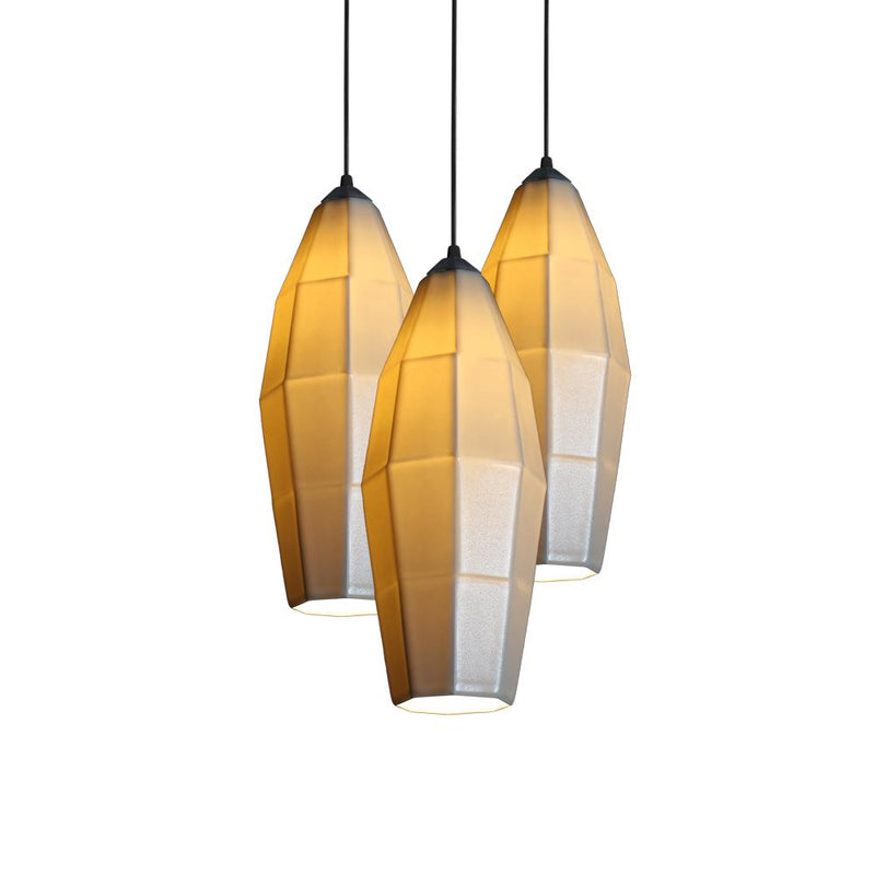The Bright Angle Extension 2 Porcelain Pendant Light Cluster Light The Bright Angle