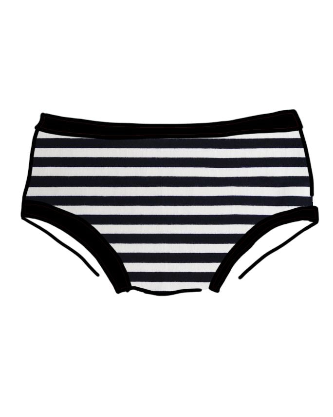 Thunderpants USA Women's Hipster Jail Stripe Thunderpants Thunderpants USA