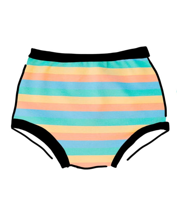 Thunderpants USA Women's Original Pastel Rainbow Stripe Women's Original Thunderpants USA
