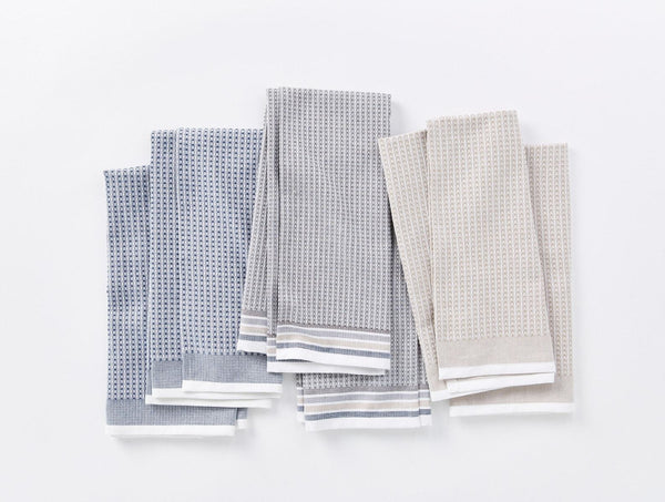 Waffle Kitchen Towel Set - Shoreline Kitchen Coyuchi
