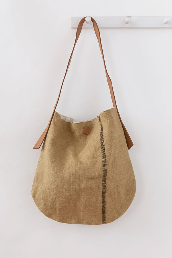 Will & Atlas Archer Jute Tote - Natural Bags Will & Atlas