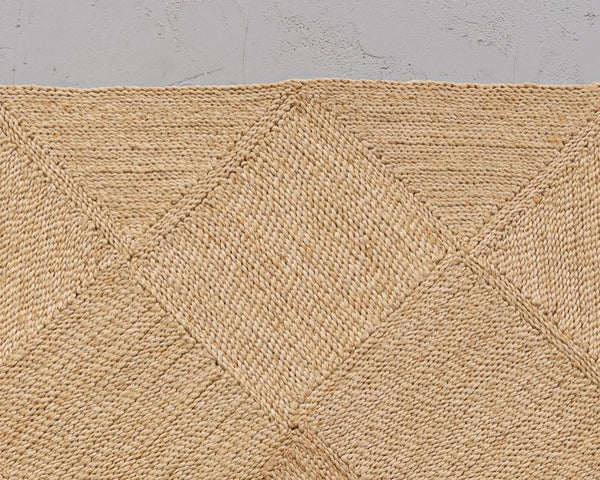 Will & Atlas Carre Jute Rug Will & Atlas
