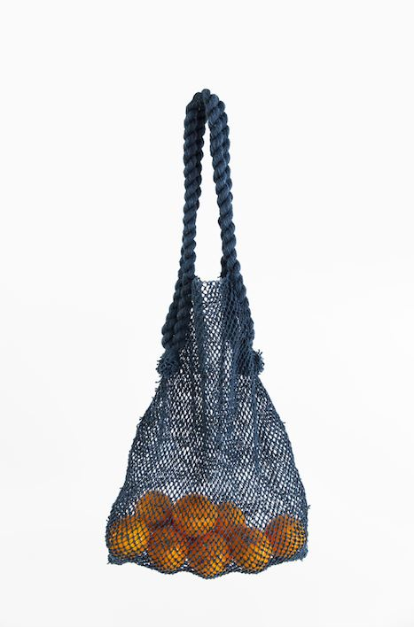 Will & Atlas Jumbo Market String Bag - Indigo Will & Atlas