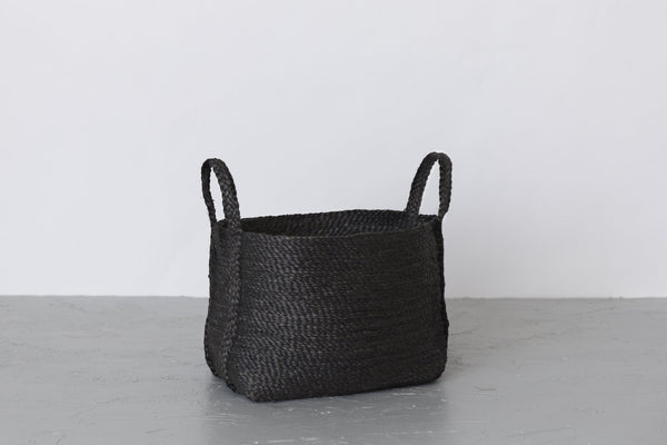 Will & Atlas Large Jute Basket - Charcoal Will & Atlas