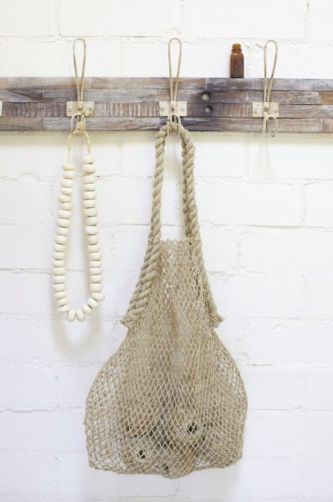 Will & Atlas Market String Bag - Natural Will & Atlas
