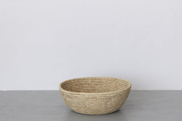 Will & Atlas Palm Leaf Jumbo Woven Bowl Will & Atlas