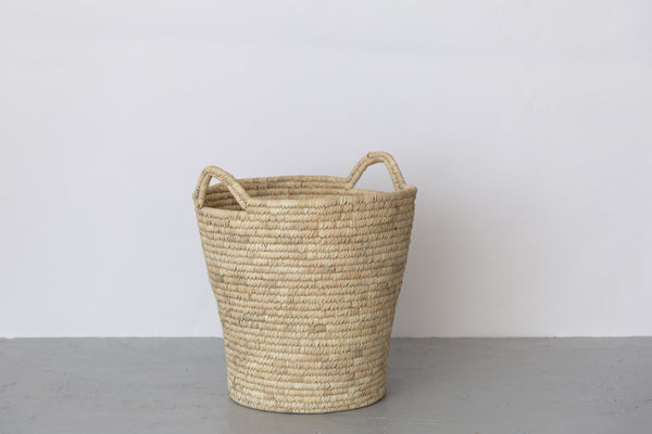 Will & Atlas Palm Leaf Laundry Basket - Oval Will & Atlas