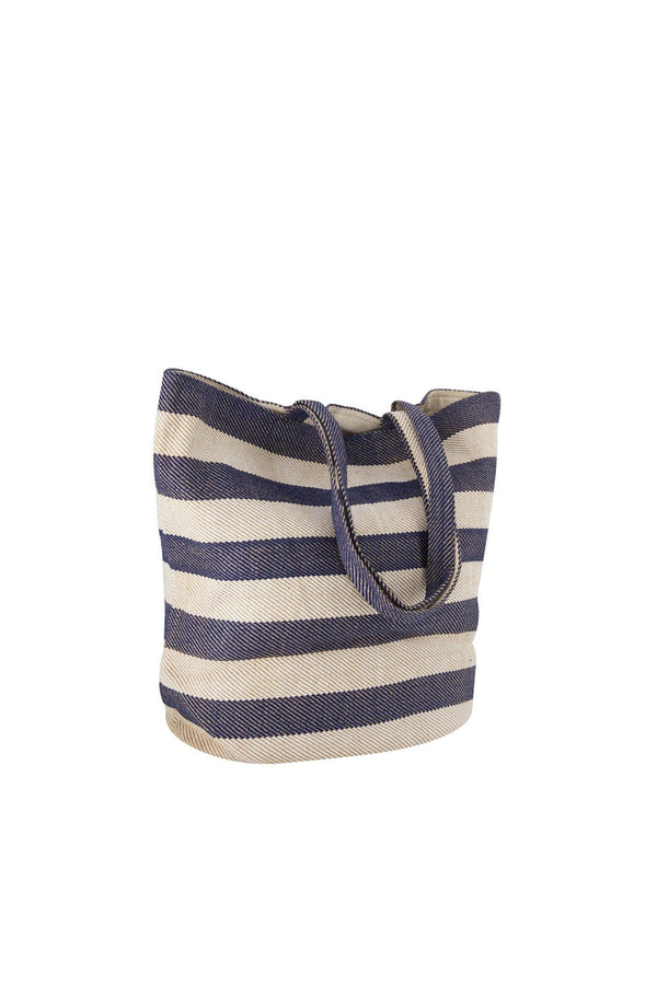 Will & Atlas Provence Striped Tote - Indigo & White Will & Atlas