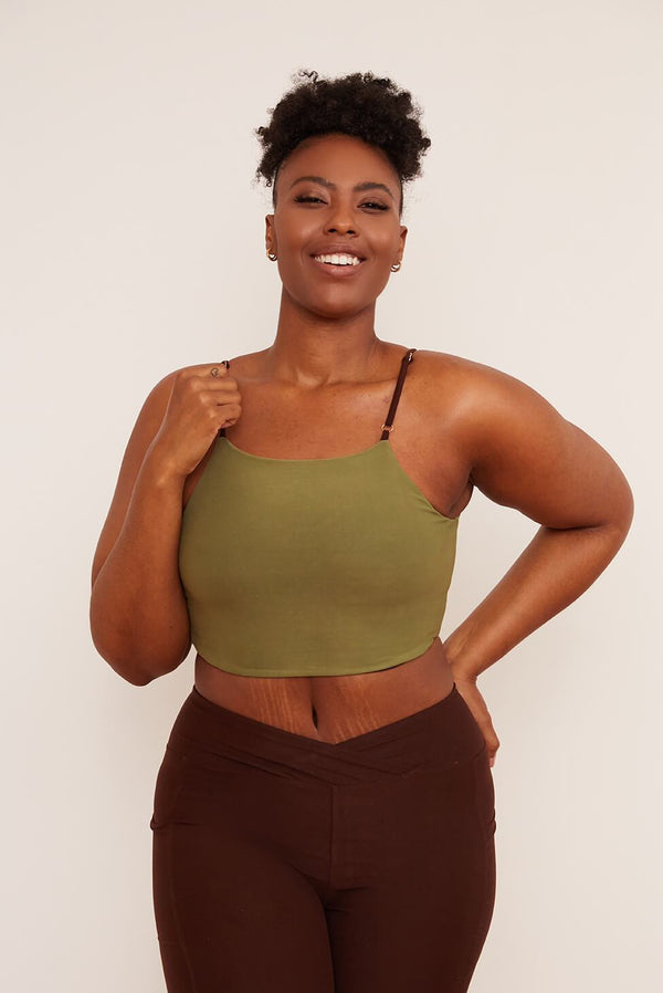 Wolven Crisscross Four-Way Top | Chai Tops Wolven