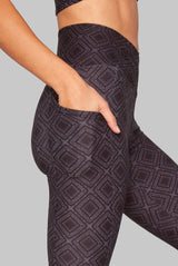 Wolven Crossover Pocket Legging - Summit Legging WOLVEN -15145874849855