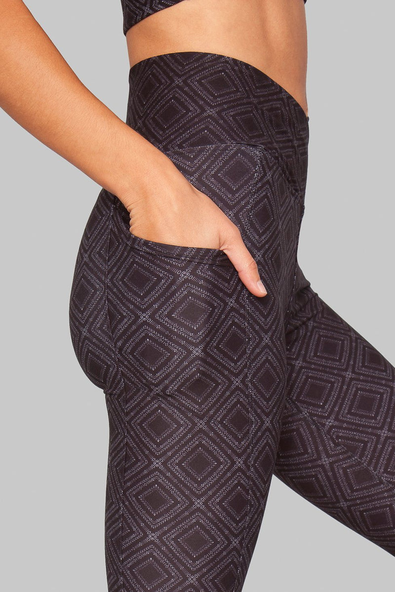 Wolven Crossover Pocket Legging - Summit Legging WOLVEN