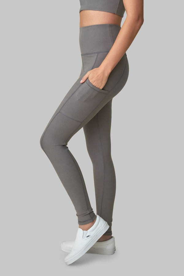 Wolven Pocket Legging - Wolf Gray Legging WOLVEN