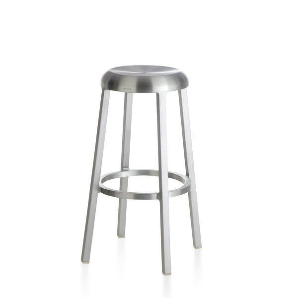 Za Barstool Furniture Emeco Brushed