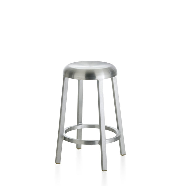 Za Counter Stool Furniture Emeco Brushed