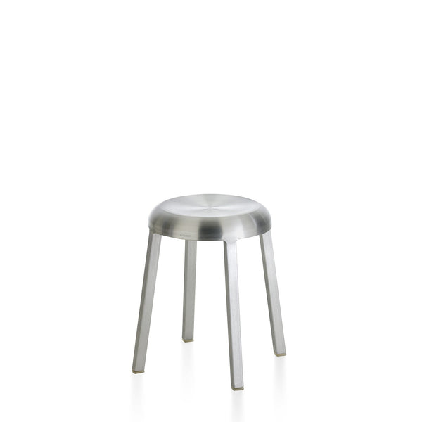 Za Small Stool Furniture Emeco Brushed