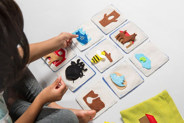 Zeki Learning Animal Habitat Matching Game Gifts Zeki Learning