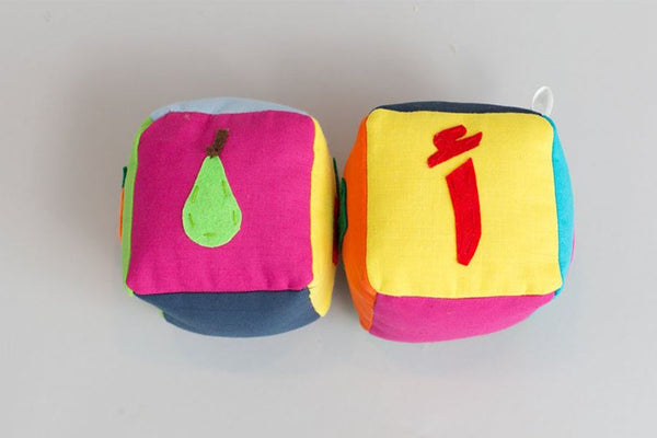 Zeki Learning Arabic Fruit Block Set Gifts Zeki Learning