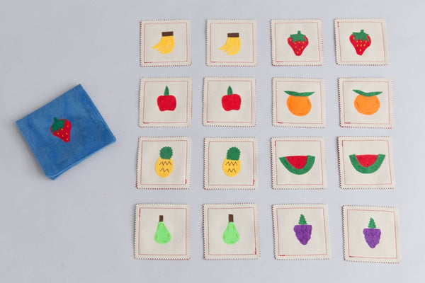 Zeki Learning Fruits Memory Game Memory games Zeki Learning